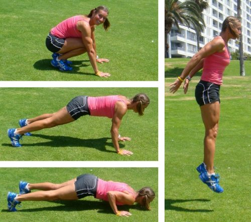 Burpees: the ultimate conditioning exercise