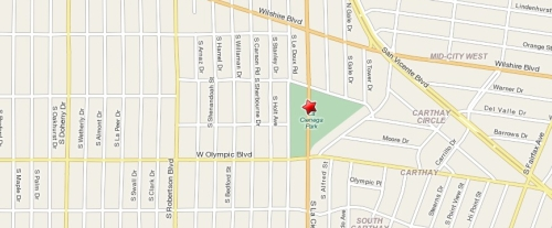 Tennis Fitness Class at Beverly Hills Tennis - map and direction