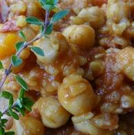 Chickpea (garbanzo bean) Curry