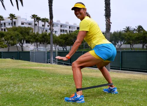 Monster Walk Backward for Strong Hips