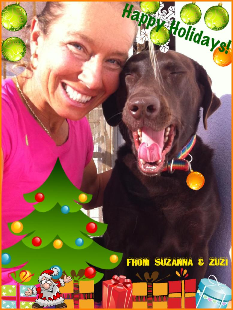 Happy Holidays 2012 with Zuzi and Zuzi