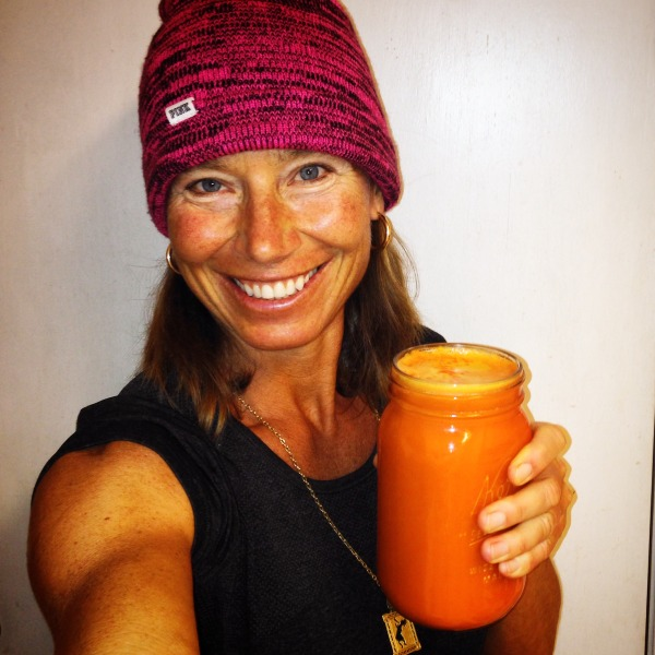 carrot apple ginger juice and me