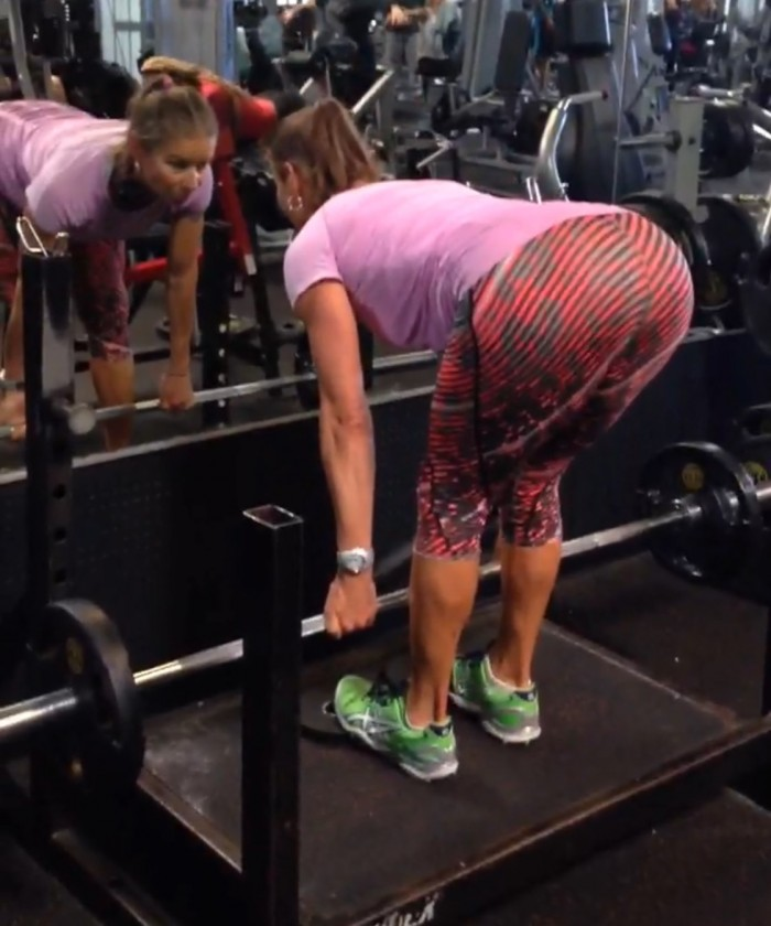 Strengthen the glutes with a deadlift