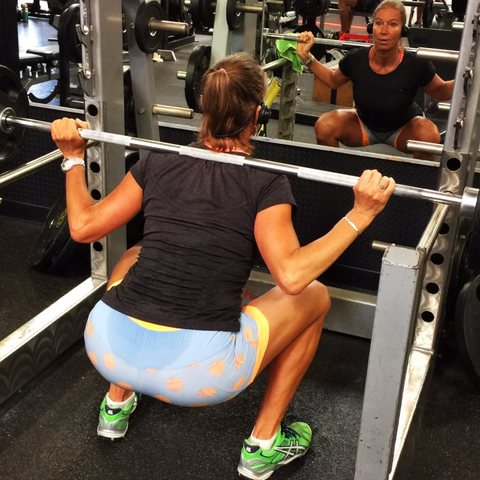 Strengthen the glutes with the squat