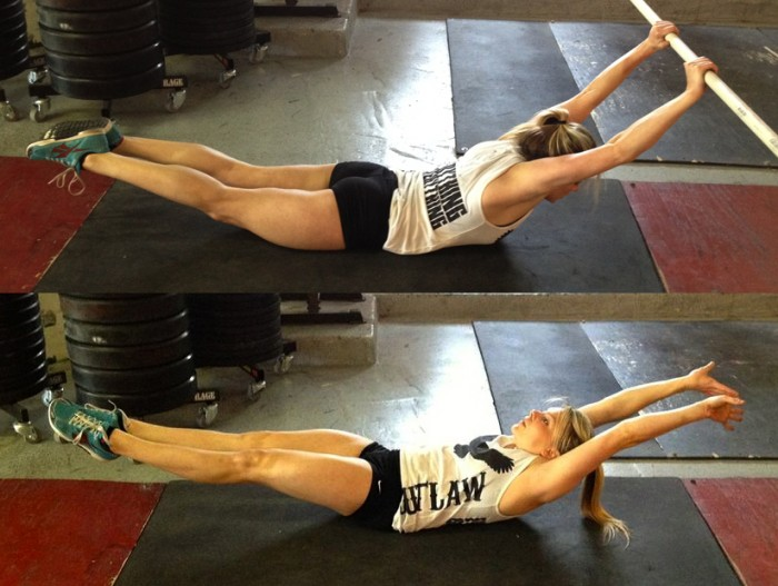hollow and arch body hold