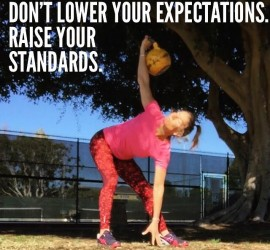 fitness goals — raise your standards