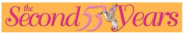 the second 53 years logo
